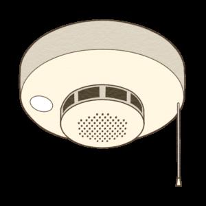火災報知器のイラスト