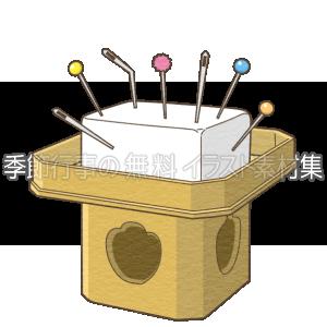 針供養のイラスト