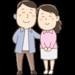 夫婦のイラスト(カラー版)