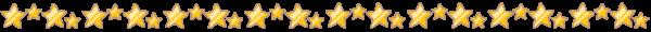 星のライン素材(カラー版)