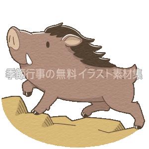 猪のイラスト