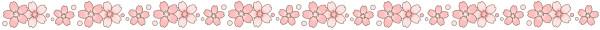 桜のライン素材