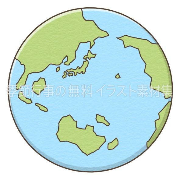 地球のイラスト 季節行事の無料イラスト素材集