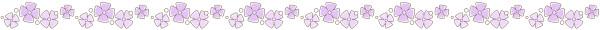 あじさい(紫陽花)のライン素材
