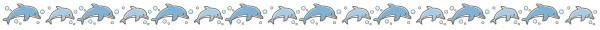 イルカのライン素材