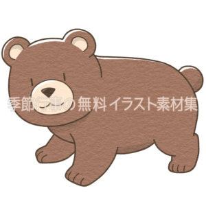 クマ(熊)のイラスト