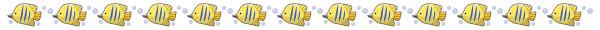 魚(チョウチョウウオ)のライン素材