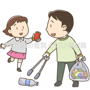 掃除 季節行事の無料イラスト素材集